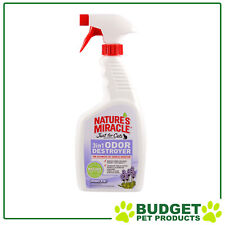 Natures Miracle 3 in 1 Odor Odour Destroyer Lavender Scent 709ml for Cats