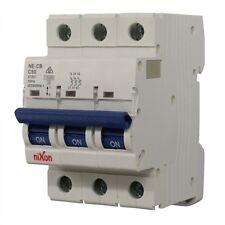 50amp - 3 Pole 10ka MCB - Circuit Breaker