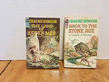 2 Vintage paperbacks Edgar Rice Burroughs Ace  Science Fiction F-232 & F-245