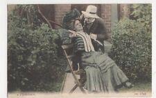 Flirtation, JWS 2542 Postcard, B405