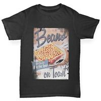 Twisted Envy Beans On Toast Boy's Funny T-Shirt