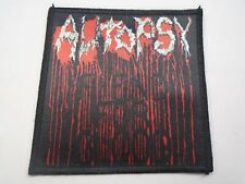 AUTOPSY FIEND FOR BLOOD SUBLIMATED PATCH