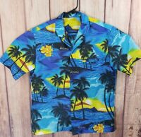 Mens Vintage Royal Creations Hawaiian Shirt L