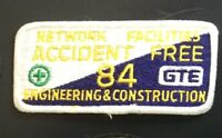 Network Specialities accident free 84 GTE engrng & construction 2X4-1/2 #3535