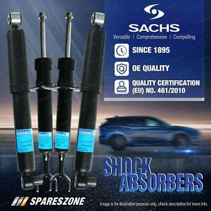Front + Rear Sachs Shocks for Audi A6 Sedan Wagon with Sports Suspensions