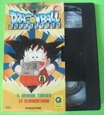 VHS film DRAGONBALL COLLECTION 10 Il grande torneo Le eliminatorie (F15) no dvd