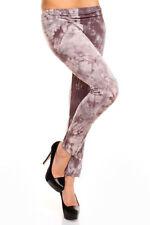 Leggings da donna taglia S grigio