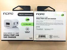 INCIPIO High-Speed 2.1 AMP Single Port USB Car Charger