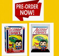 Funko Pop! Superman Action Comics Comic Book Cover Figure PRESALE JUNE FLAWLESS