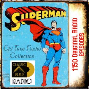 adventures of Superman -original 1940's radio show collection - comic action