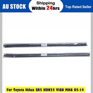 Weatherstrip Window Door Belt Seal For Toyota Hilux SR5 KUN25 VIGO MK6 2005-2015