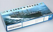 05308 Trumpeter Liberty Ship Static Model Kit Steamer 1/350 USS John W. Brown