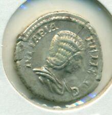 Ivlia Domna c217 Denarius VF Wife of Septimius Severus Diana Lucifera s1835
