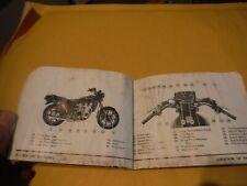 kawasaki kz1300  kz 1300    original owner  manual