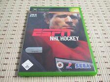 ESPN NHL Hockey pour xbox * OVP *