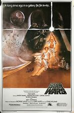 Mark Hamill signed Star Wars Poster a new hope with beckett coa Hamill hologram