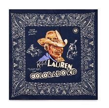 Ralph Lauren Polo Films The Colorado Kid Western Cotton Bandana Scarf New