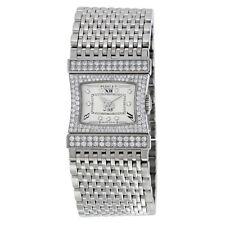 Bedat No. 33 Reverso Silver Dial 18K White Gold Diamond Ladies Watch 338.533.109