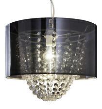 Lámpara Colgante con Acryl-Kristallbehang Dormitorio de Techo Salón