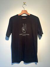 John Varvatos Londres hacer la paz Camiseta Unisex Genuino Hecho en EE. UU. (S) Negro