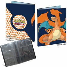 POKEMON SAMMELALBUM DIN-A4 für 180 Karten | Glurak | 9-Pocket Ultra Pro Neu OVP
