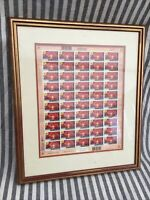 New Zealand Framed Mint Stamps, First to see the New Dawn Stamps. Rare Stamps