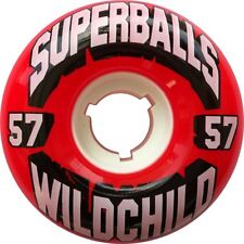 EARTHWING SUPERBALLS WORLD CHILD 57mm 78a RED Skateboard Wheels