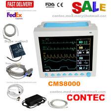 FDA ICU CCU Patient Monitor 6 parameter Vital Sign ECG NIBP RESP TEMP SPO2 PR,US