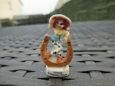 RARE French Import Disney Pixar Toy Story 2 - JESSIE - Ceramic Ornament Figurine
