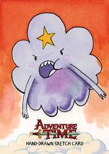 Adventure Time Sketch Card Mark Pingitore of Lumpy Space Princess