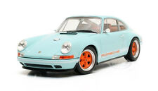 SINGER PORSCHE 911 BLUE 1/18 MODEL CAR BY CULT MODELS CML040-1