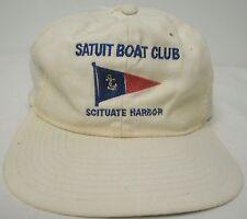 VNTG CADDYSHACK SATUIT BOAT CLUB - SITUAT HARBOR BOAT SAILING CAP HAT SNAP BACK
