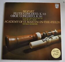 NEVILLE MARRINER Academy of St. Martin-in-the-Fields MOZART Flute LP Record