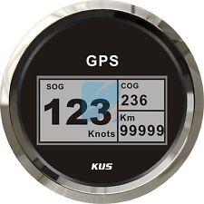 KUS Marine Digital GPS Speedometer Electric Speed Gauge Car Truck Boat 85mm