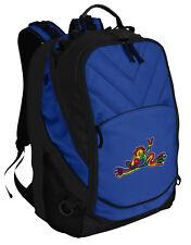 Peace Frog Backpack Laptop Bags Computer Backpacks