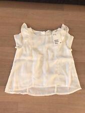 Sommer bluse, kurzarm, Volants, weiß, H&M, 92, Neu mit Etikett