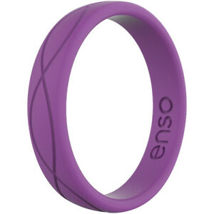 Enso Rings Women's Infinity Series Silicone Ring