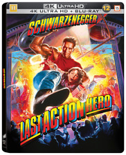 Last Action Hero Limited Edition Steelbook 4K UHD + Blu Ray