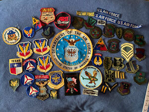 PATCH , 50 patches , US Air Force SR 71 Blackbird ...patch