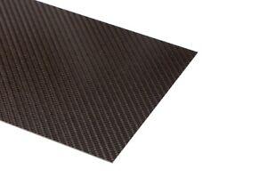 Carbonplatte CFK Streifen 900 x 45 x 0,3mm / 0,7mm / 0,9mm Zierstreifen Echt-CFK