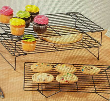 New listing 16 Inch x 10 Inch x 3 Inch 3 Piece Cooling Rack Set