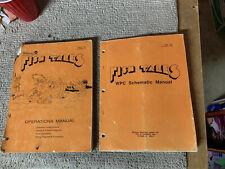 Original Fish Tales set Williams Pinball game Manual