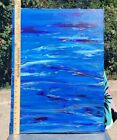 """Original Acrylic On Canvas 18"""" X 24"""" Signed Sold By Artist"""