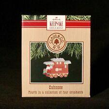 Hallmark Keepsake Claus & Co RR Caboose Ornament Miniature Train 4th in series