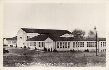 RPPC London High school before explosion, New London,  San Antonio 8830