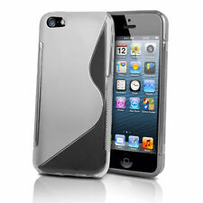 NEW S-LINE APPLE IPHONE 4/4s GEL CASE + FREE SCREEN PROTECTOR