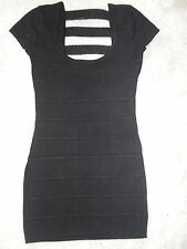 WOMENS BLACK DRESS BY V LONDON, NEW WITH TAGS