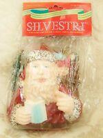 Silvestri Old World Santa Claus Toys List Large Christmas Tree Ornament