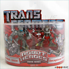 Transformers Robot Heroes Autobot Jazz and Frenzy