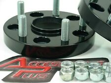 2 Pc Black Anodized Porsche Wheel Spacers 1.50 Inch Free Ship # 5130CHB